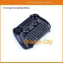 ChengChengDianWan Für PS4 Slim Wireless Controller Neueste 2,4G Mini Drahtlose Nachricht Tastatur Chatpad Mit Usb-empfänger 3 stücke