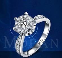 Nieuwe Eenvoudige Ring Europese Retro Platina Gladde Kant Ring Kristal Uit Swarovskis Voor Vrouwen Mode sieraden Bruiloft Ring