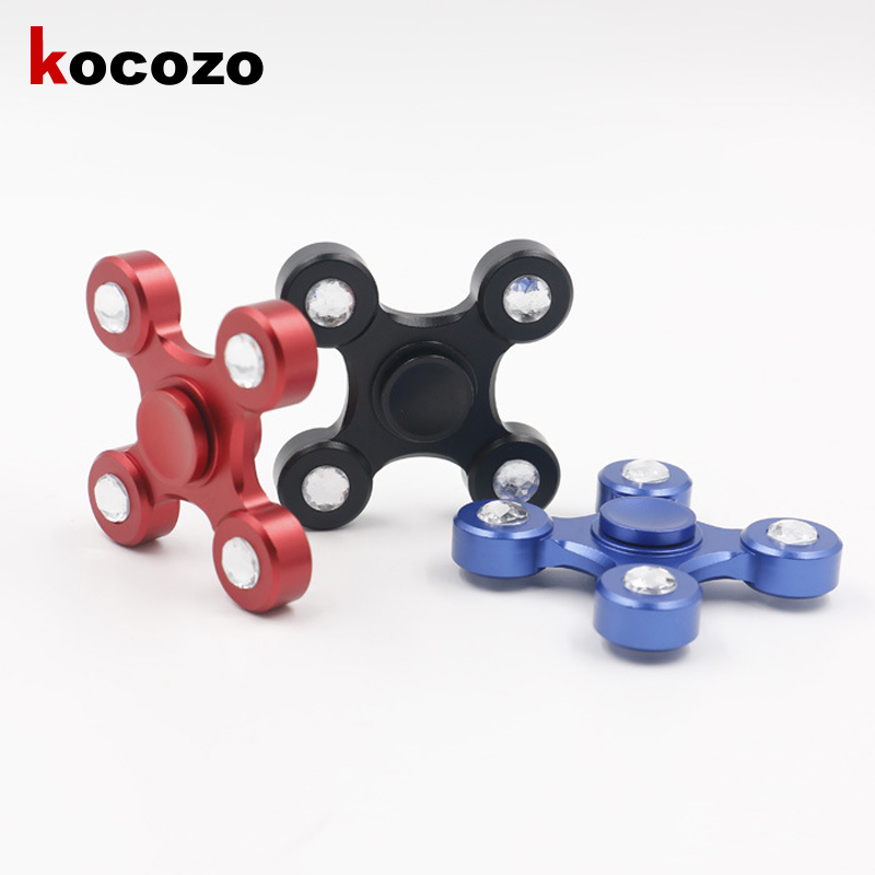 New Creative Fidget Spinner Hand Spinner Desk Anti Stress Finger Spin Spinning Top EDC Sensory Fashion