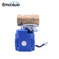 3 Wires Control Brass Motorized Ball Valve BSP NPT Crane for Water Leakage Detection System WLD 805,WLD 806(CWX 15Q)