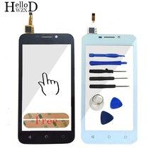 Новый для Huawei y541 Y5 Y5C y541-u02 спереди Сенсорный экран планшета внешний Стекло объектив Сенсор touch Панель часть шлейф клей