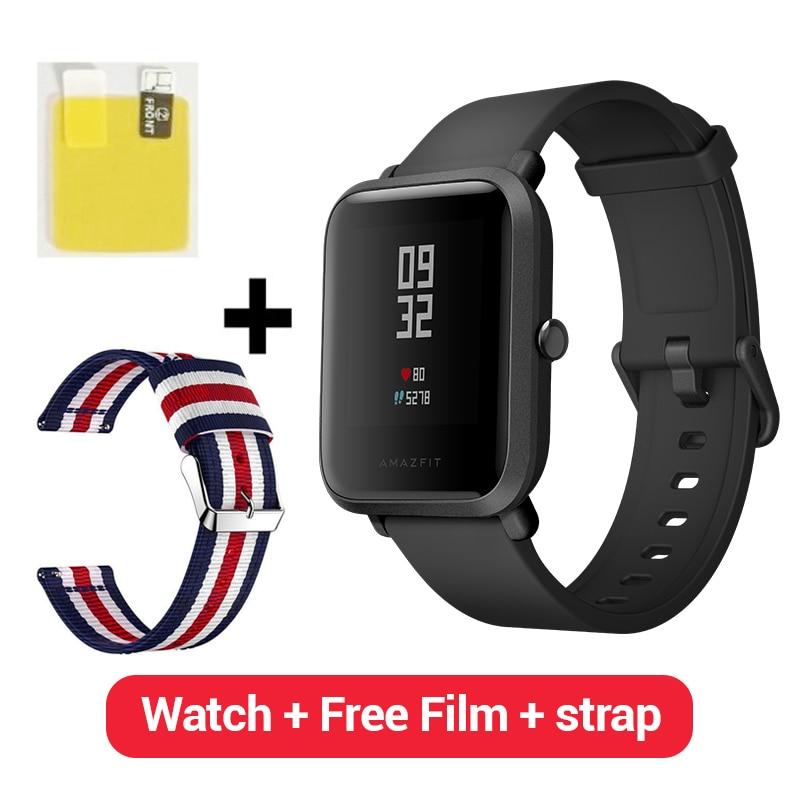 [Spanish Version] Huami Amazfit Bip Smart Watch GPS Gloness Smartwatch Smart Watchs 45 Days Standby Amazfit beep Xiaomi Phone