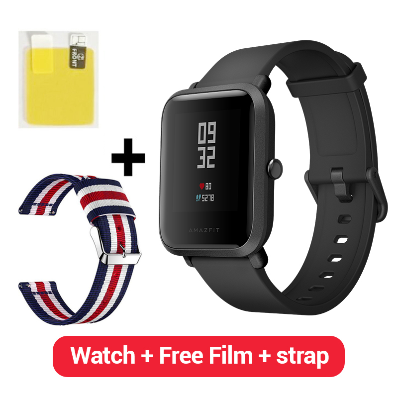[Version espagnole] Huami jeunesse xiaomi Amazfit Bip SmartWatch Pace Lite Bluetooth montre intelligente fréquence cardiaque 45 jours batterie IP68