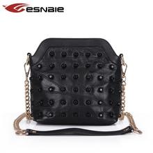 Frauen Aus Echtem Leder Tasche 100% Echtem Schaffell Messenger Bags Handtaschen Frauen Berühmte Marken Designer Weiblichen Handtasche Umhängetasche