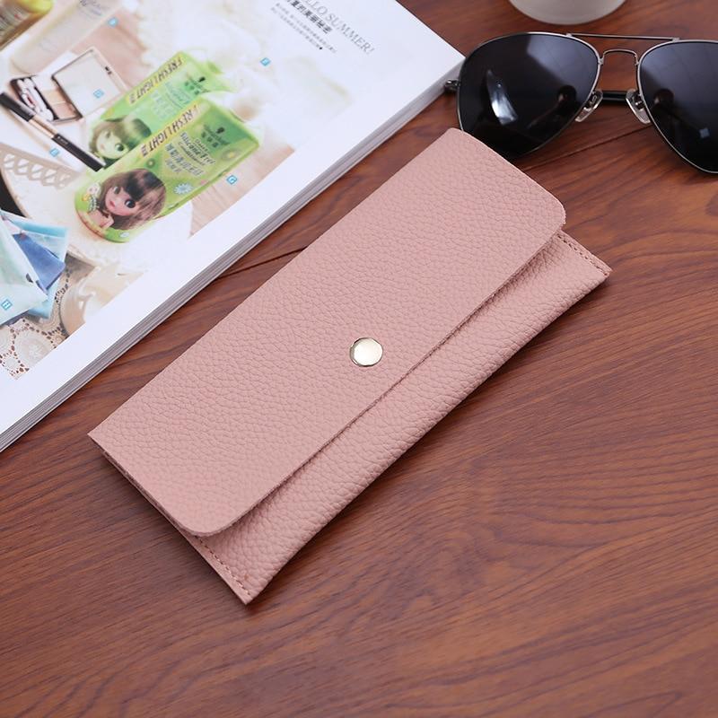 Leather Women Wallet Long Purse Vintage Solid Cowhide multiple Cards Holder Clutch Fashion Standard Wallet