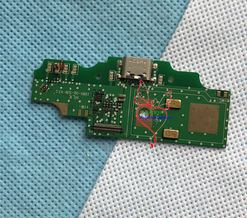 New WP5000 Board for oukitel WP5000 Charger Port Dock Charging USB Slot FREE SHIPPING