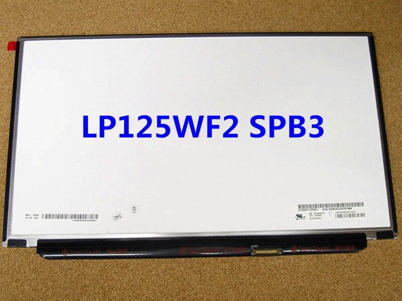 Trasporto libero LP125WF2 SPB3 edp 30 pin led lcd screen display pannello ips led 1920*1080 full hd rebekka bakken rebekka bakken most personal 2 lp