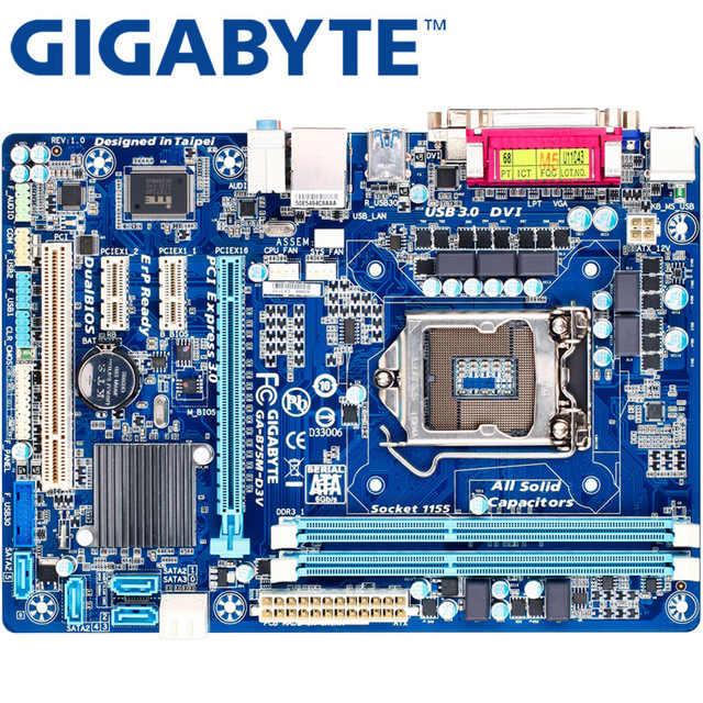 GIGABYTE GA B75M D3V настольная материнская плата B75 розетка LGA 1155 i3 i5 i7 DDR3 32G Micro ATX