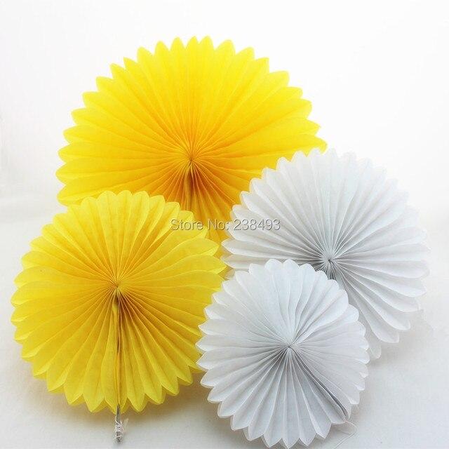 free ship white paper fan 50pcs lot 25cm paper fans wholesale