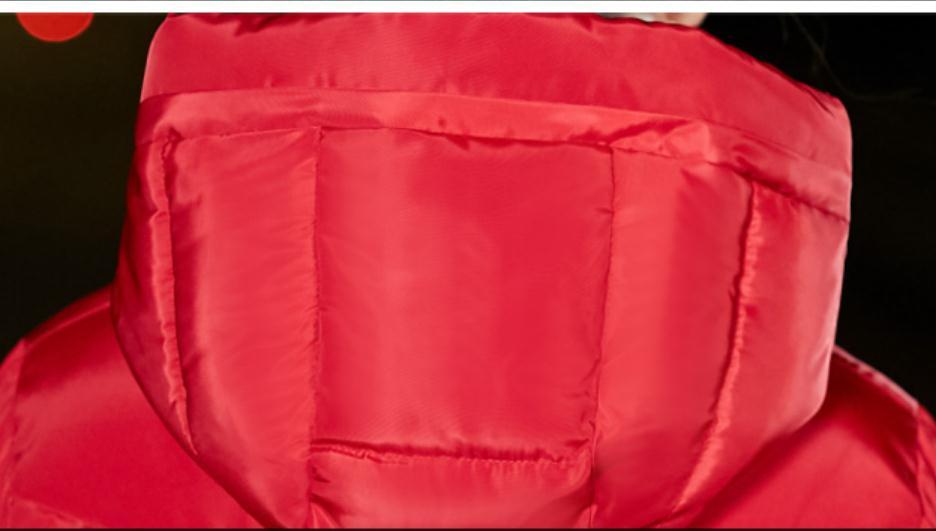 rembourré Envoyer Long Noir Femmes Coréenne Style Genou gris rouge 2018 Sur Hiver Nouveau Épaississement Vêtements Coton Green blanc Le Livraison Manteau army pEqIwdp