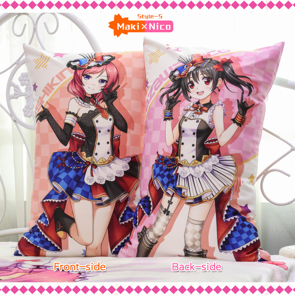Japanese Anime Love Live Staff Hugging Body Back Pillow School Idol - Home Textile - Photo 5