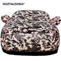 Tela Oxford cubierta del coche sol protección a prueba de lluvia calor aislamiento universal calor en invierno engrosamiento de anticongelante cubierta de nieve