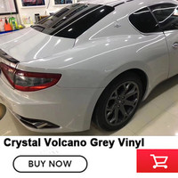 glossy Volcano Grey Vinyl Sticker High Glossy Vinyl Film Gloss vinyl Wrap Sticker Factory price new product wholesale