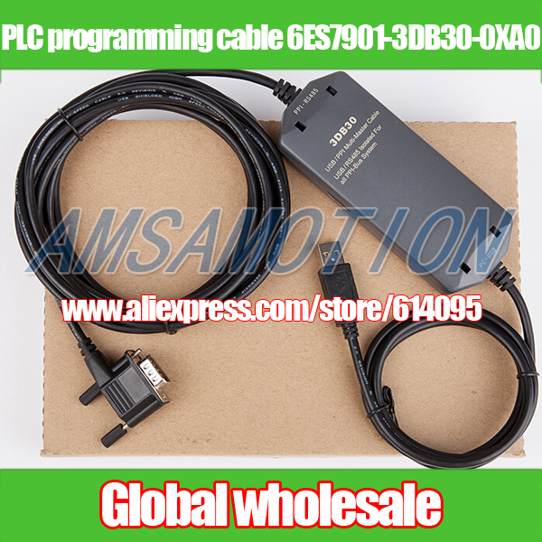 1PCS New PLC Cable for 6ES7 901-3DB30-0XA0 6ES7901-3DB30-0XA0 Free Shipping