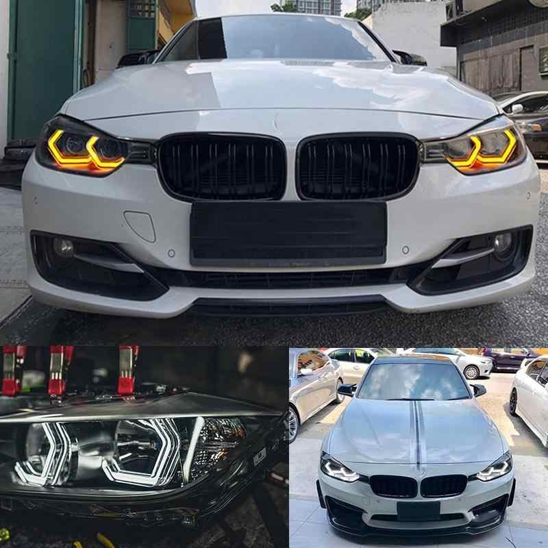 Горки Concept M4 знаковых Стиль светодио дный Хрустальный Ангел глаз комплект глаза Наборы для BMW 2 серии 2014-2018 тюнинг автомобилей