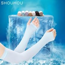 † SHOUHOU 1 ПК Лето Рукав Охлаждения Рука Ледяной Унисекс Спорт Бег Велоспорт Чистый Рукав Рукава