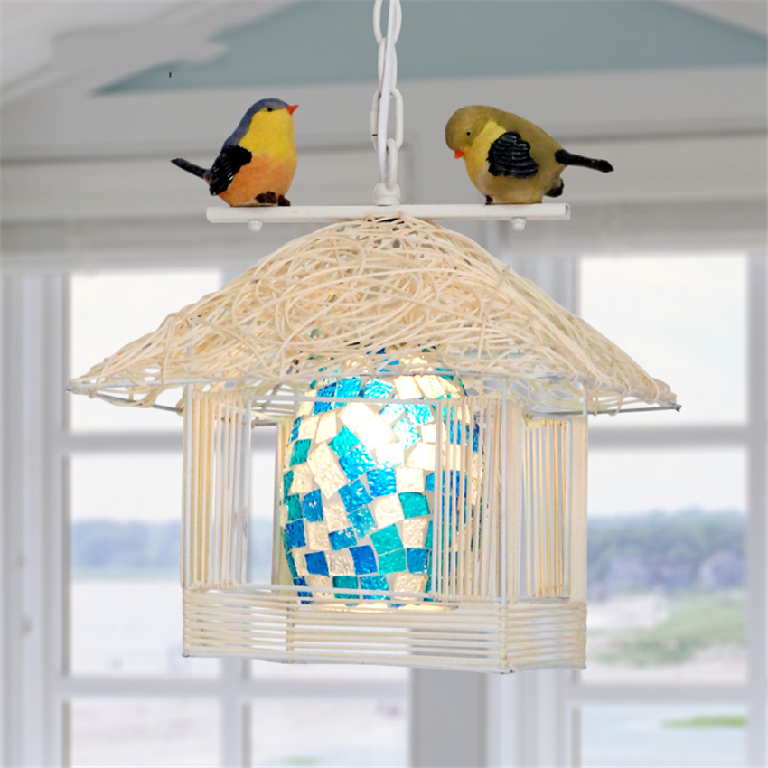 Ceiling Lights & Fans Lights & Lighting Modern Light Bird Led Chandelier Wood Bedroom Living Room Cafe Corridor Pendant Lamps Lighting Decoration Hanging Lamp Fixtures
