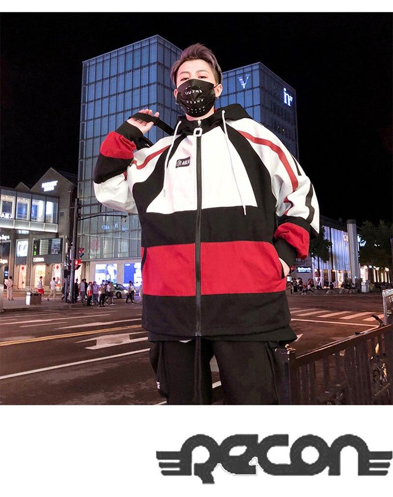 Autumn Spring Jacket Windbreaker Korean Men Hip Hop (7)