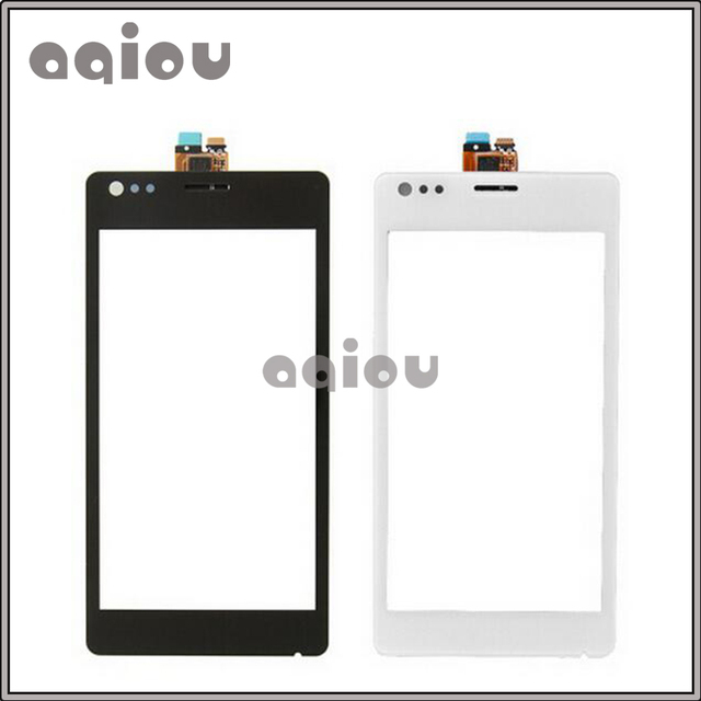 """10Pcs/lot 4.0"""" Touch Screen For Sony Xperia M C1904 C1905 C2004 C2005 Digitizer Front Glass Lens Sensor Panel Free Shipping"""