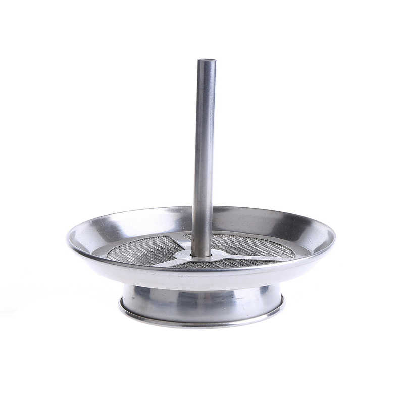 Fumar Dogo de acero inoxidable Hookah Shisha carbón titular plato diámetro 12 cm Shisha Hookah tazón