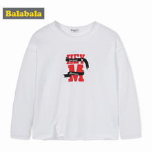 672f16a9 Balabala Toddler Boy Graphic Sweatshirt with Slits at Sides 100% Cotton Kids  Boys Children Tops