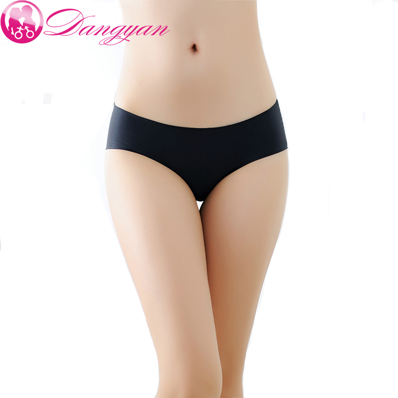 Women's Panties Elasticity Ice silky Intimates Seamless Underwear Ultra-thin Traceless Sexy lingerie Panties Briefs
