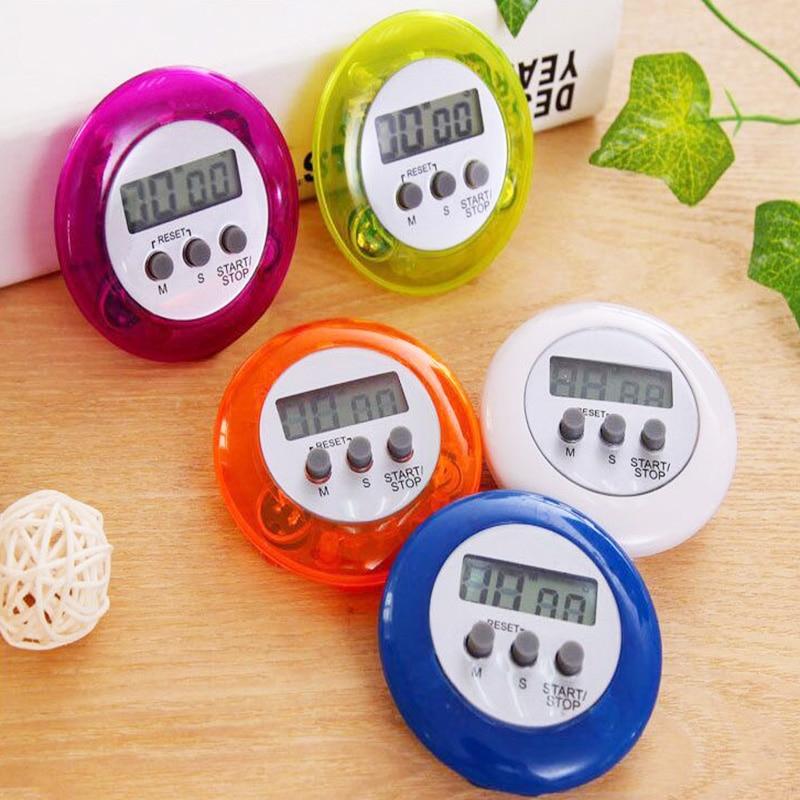 Digitale Magnetische Mini LCD Stopwatch Timer Keuken Racing Wekker Stopwatch emory Functie Timer Keuken Gereedschap HOT
