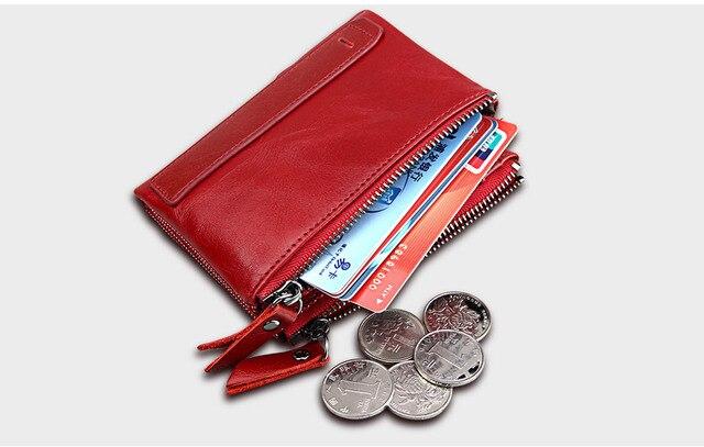Vintage Small Zipper Wallet  1
