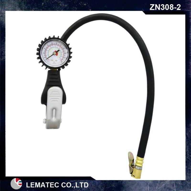 LEMAEC Nafukovací systém pneumatik s měřidlem Nástroje na opravu - Elektrické nářadí - Fotografie 1