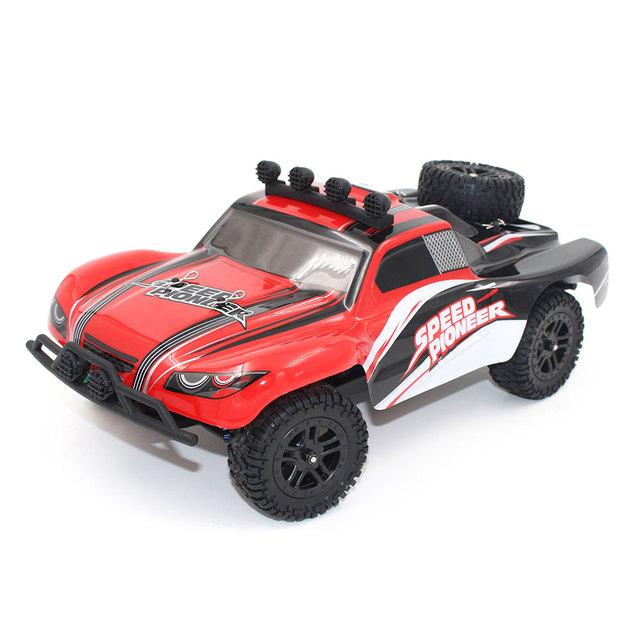 1:18 2.4 Ghz Radio Velocidade Recarregável Remoto Off-Road RC Car Toys 9301-1