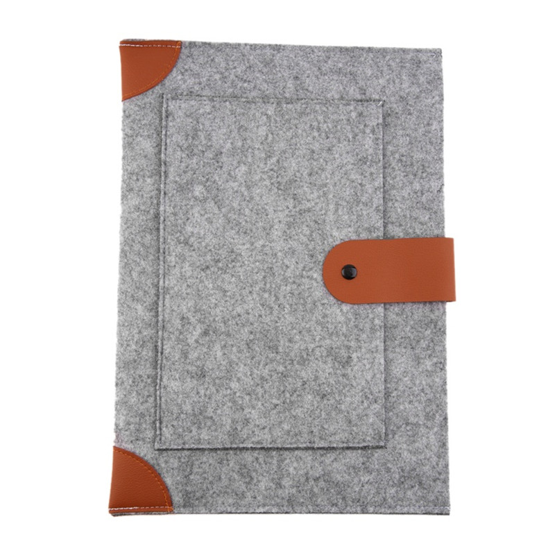 1pcs High quality felt Notebook Laptop Sleeve liner sleeve for Macbook 13 15 laptop bag Computer Bag Best Price