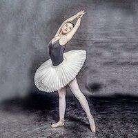 Child Professional Ballet Tutus Adult Black Stiff Pancake Half Ballet Tutu Tulle Practice Tutu Skirts Kid