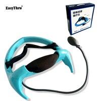 EasyThru Portable Pneumatic cervical vertebra tractor home health care toolNeck posture pump Neck spine traction massage