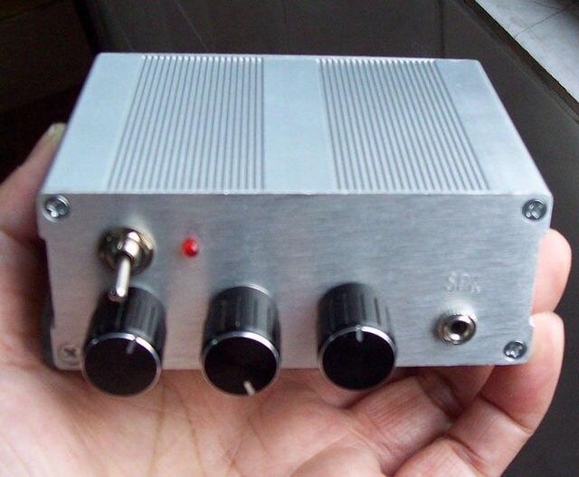 新しい1ピースdiyキットairbandラジオ受信機航空バンド受信機+マニュアル+ alケース