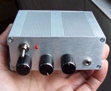 Novo 1 pc diy kits airband receptor de rádio receptor faixa aviação + manual caso al