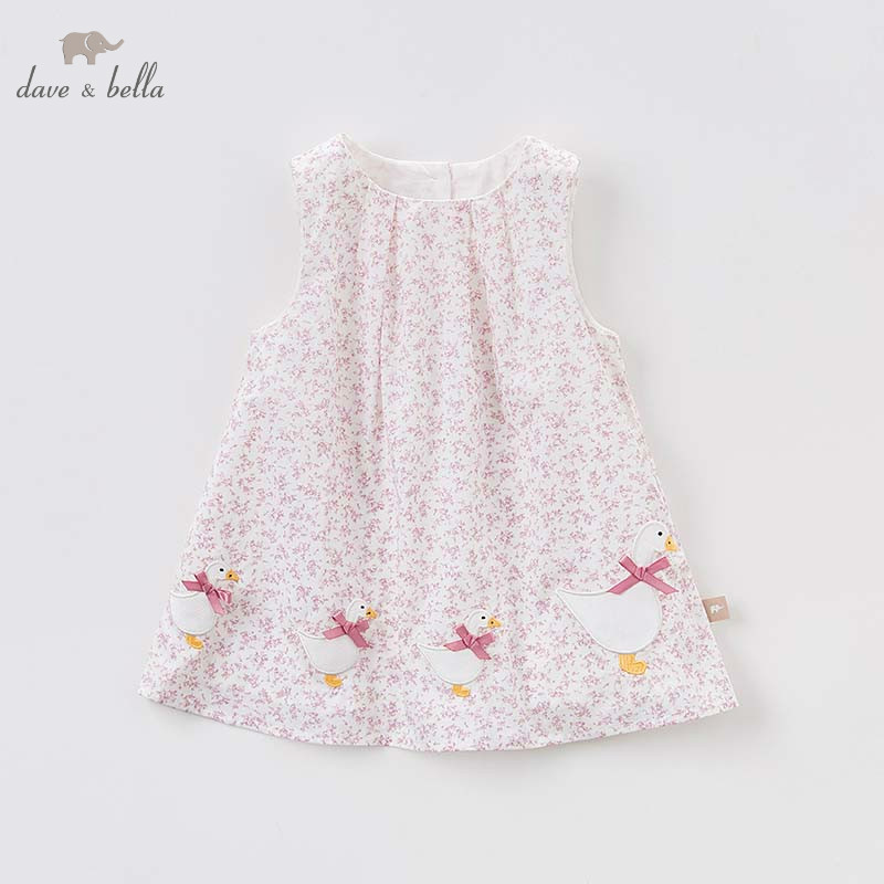Dave bella children party dress girls floral dresses baby sleeveless gown toddler summer clothing vestido infantil 1 pc DB7237Dave bella children party dress girls floral dresses baby sleeveless gown toddler summer clothing vestido infantil 1 pc DB7237