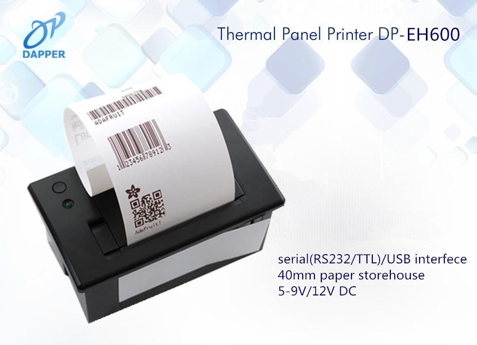 US $20 0 |Mini Thermal Panel Receipt Printer 58mm embedded thermal printer  module TTL/RS232 for panel-in Printers from Computer & Office on