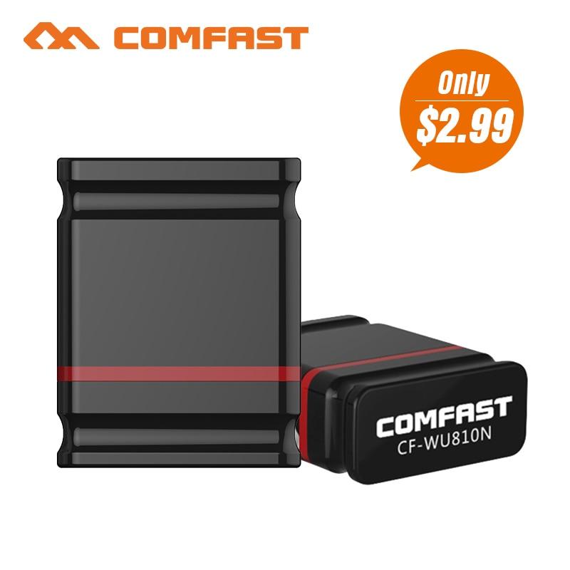 Comfast CF-WU810NMini USB WIFI 150M Wifi Adapter 802.11n/g/b Wi Fi Antenna 150M Wireless LAN Network Card Wif For Desktop Laptop