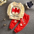 2017 New spring autumn children clothing batman ropa mujer kids sets roupas infantis menino  sports suit boys clothes set YAA026