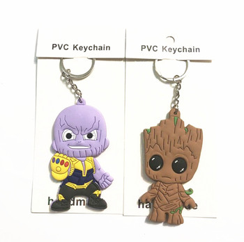 The Avengers 3 Infinity War Thanos Figure toy Keychain Toys 6cm Do Dropshipping Игрушка