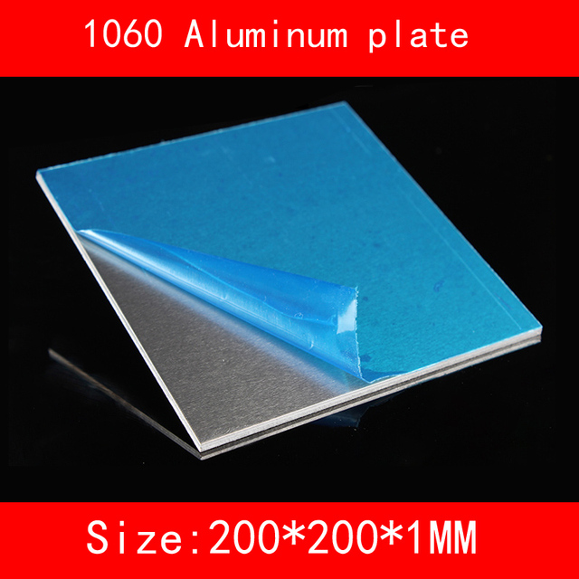 6061 # aluminiumplatte 200*200*1mm (1,5, 2,3mm dicke)