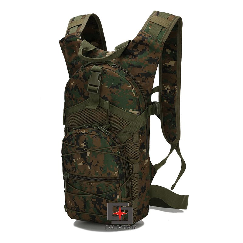 Woodland Digital Camo Tactical Backpack High Quality Nylon Camping Hiking Backpack Outdoor Mochila Sport bag Military