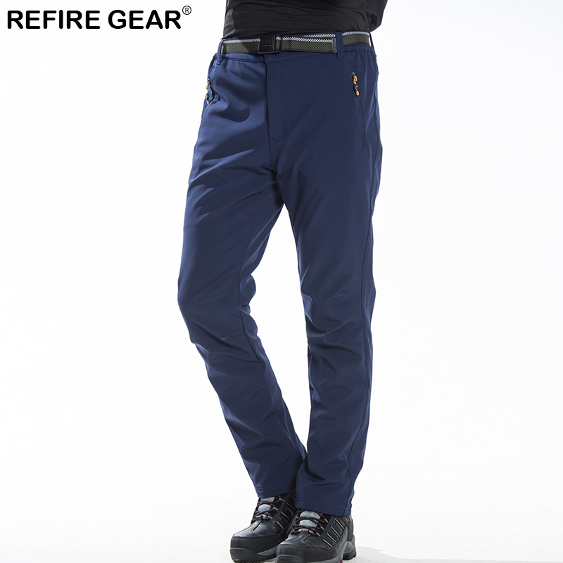 Refire Gear hiver printemps chaud polaire pantalon hommes femmes épais chaud extérieur randonnée Camping pêche pantalon sport s-xxl pantalon