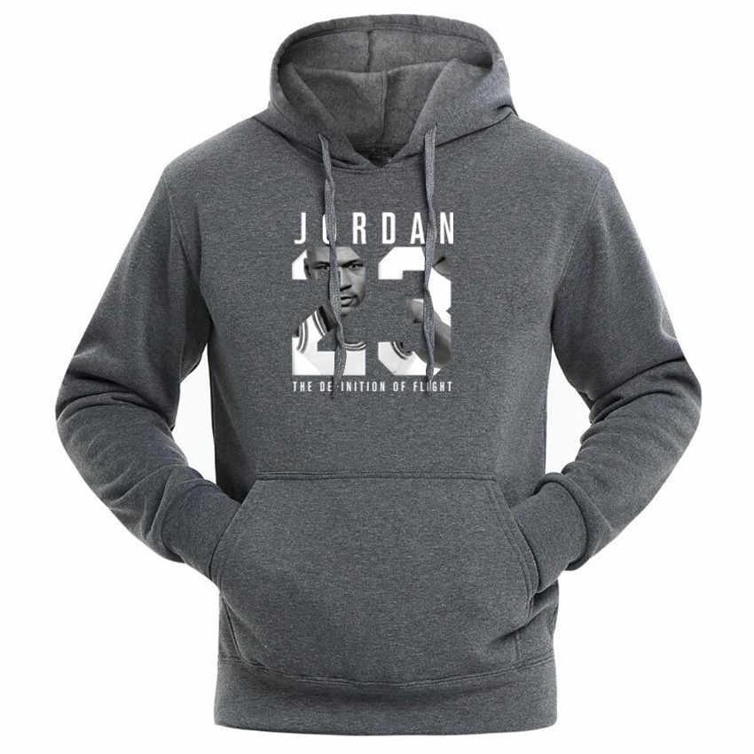 Moda ürdün 23 baskı spor erkek/kadın Hoodies kazak Hip Hop eşofman tişörtü Casual marka giyim Hoody ceket