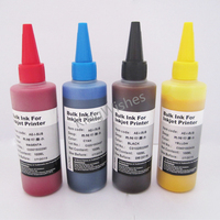 Free Shipping 4PCS/Set 100ml Universal Sublimation Ink For Epson Four Color Desktop Inkjet Printer