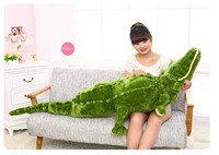 Stuffed Animal Large 160cm Simulation Crocodile Plush Toy Throw Pillow Birthday Gift W3270