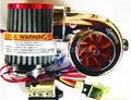 Uso do carro pequeno DIY Turbo-500 Turbo kit moto peças do turbocompressor Eletrônico MINI carro supercharger turbina Elétrica