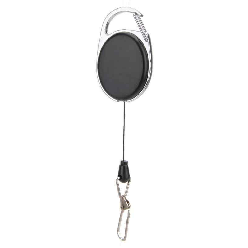 Mini Portable réglable Sports de plein air Camping randonnée EDC télescopique printemps Type porte-clés clés anneau outils de plein air voyage Kit