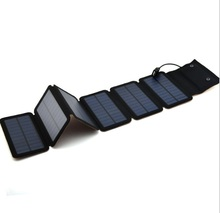 9W Mono Solar Panels Charger Portable Solar Power Bank Outdoors Emergency 5V/2A Power Charger for Mobile Phone Tablets