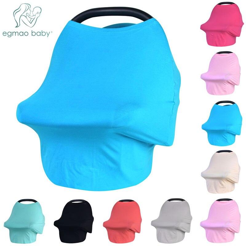 Детские Уход обложки для автомобилей накидка для кормления навесом и кормящих шарф многофункциональный корзина крышка грудного вскармлив...